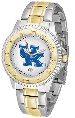 Kentucky Wildcats Competitor Steel Watch - Kentucky Wildcats Competitor Two-Tone Men's Watch