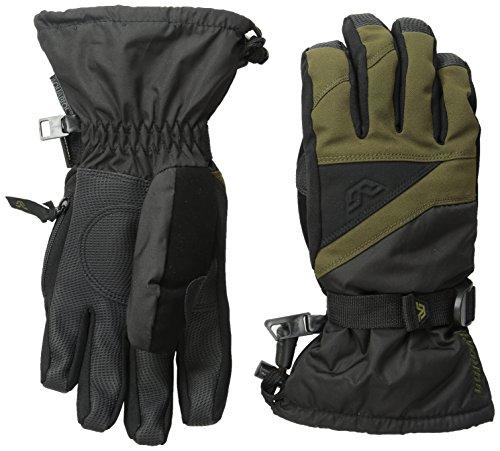 Gordini Big Kids Youth Stomp Iii Junior Gloves, Dark Olive Black, X-Small - Gordini Kids Glove