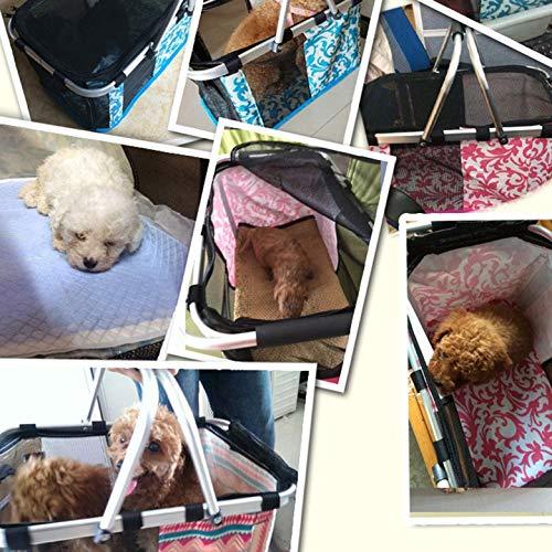 Paquete Bolsa Tela De Suministros Portátil Perros Gatos Pet Kurphy Estuche Out Para Mascotas Diagonal Oxford Travel CxqBwxR1