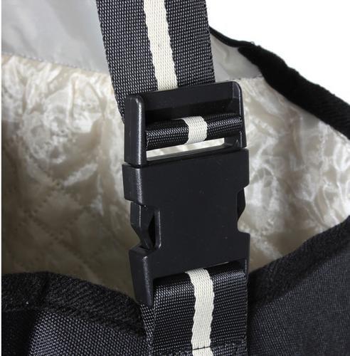 Anself Pet Bag/Borsa/Borse Carrier Bag/Borsa/Borse in tessuto Oxford Bag/Borsa/Borse singola spalla Bag/Borsa/Borse per Cane Gatto Nero (S).