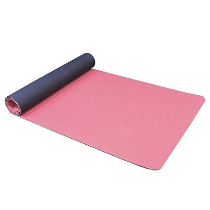 Yogi-bare - estera de la Yoga / Colchoneta de la Yoga 4mm - doble capa ecológico TPE con agujeros transpirable - antideslizante - estudio profesional ...