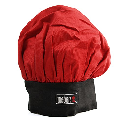 Weber Black & Red Weber Chef BBQ Hat - Weber Black Barbecue