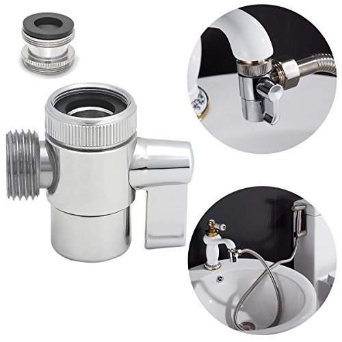 (Ciencia SUS304 stainless steel Diverter For kitchen sink faucet or bathroom sink faucet Faucet Replacement Part SBA021)