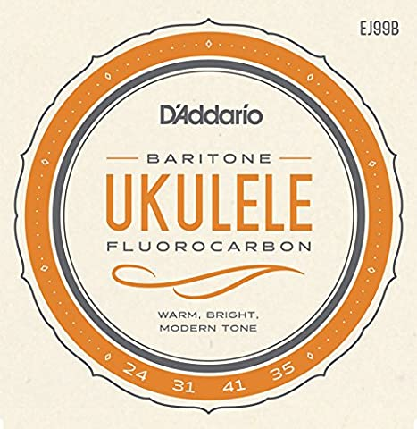 D'Addario EJ99B Pro-Arté Carbon Ukulele Strings, Baritone (Uke Soprano Strings)