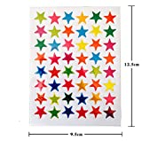 goodnight sleep tight chart - FineFun Reward Chart sticker Mini Stickers Valu Pack, Metalic Stars(10 sheets)