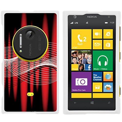TurtleArmor | Nokia Lumia 1020 Case | Nokia Elvis Case | EOS | 909 [Slim Duo] Slim Fitted Hard Protector Snap On Case Rubberized Coat on White Music Design - (Audio Combination Case Camo)