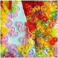 Incredibile Bands Loom Confezione da 125 Colorful S-Clips BZ0018 [Toy]