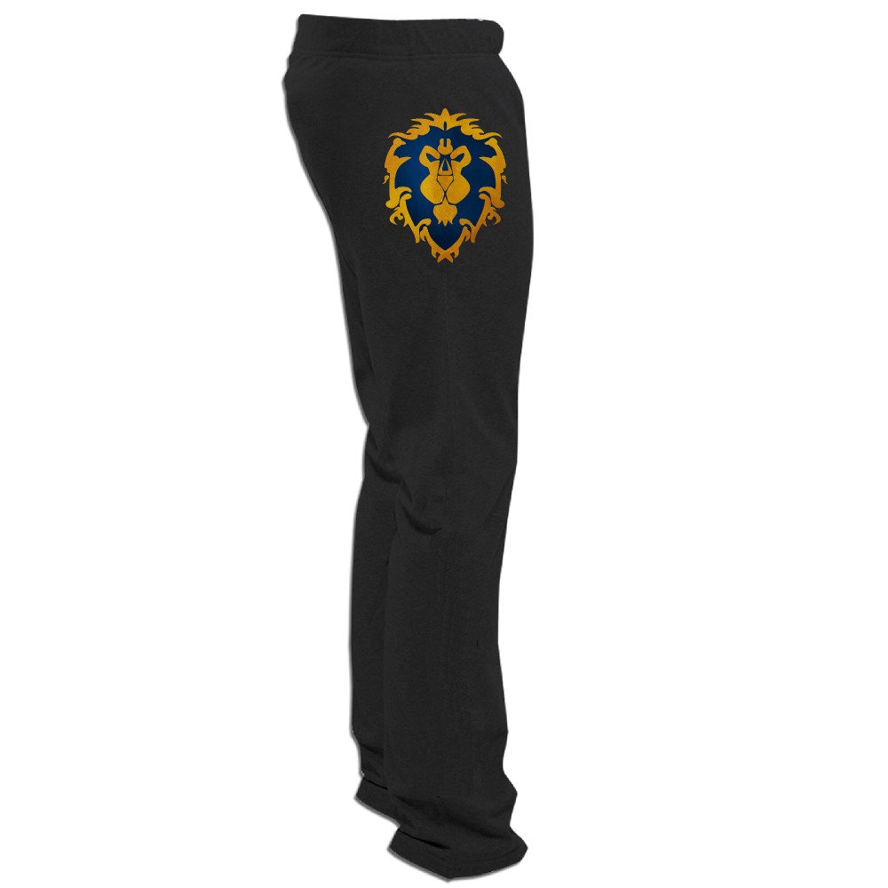 Men World Of Warcraft Alliance Logo Jogger Sweatpants