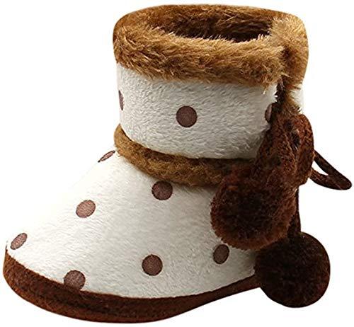 Baby Meisjes Jongens Zachte Zool Sneeuw Laarzen Peuter Baby Zachte Booties Pasgeboren Bont Voering Warm Winter Laarzen…