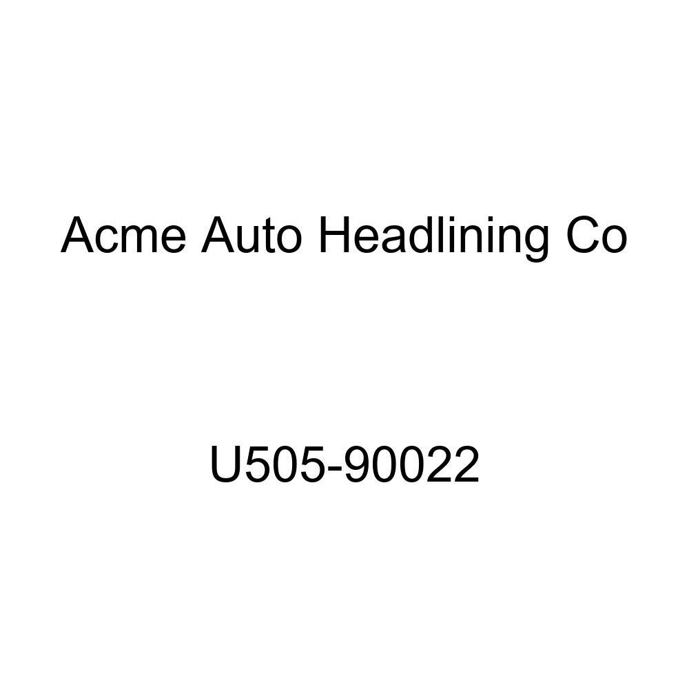 Acme U505-90022 Front Saddle Vinyl Bench Seat Upholstery with Palomino Vinyl Inserts