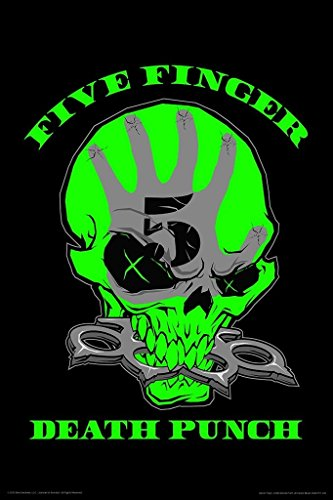 Bravado Five Finger Death Punch 12 X 18 inches Small Poster