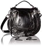 Rebecca Minkoff Small Vanity Saddle, Black