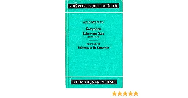 Aristoteles organon kategorienlehre anemia and steroids