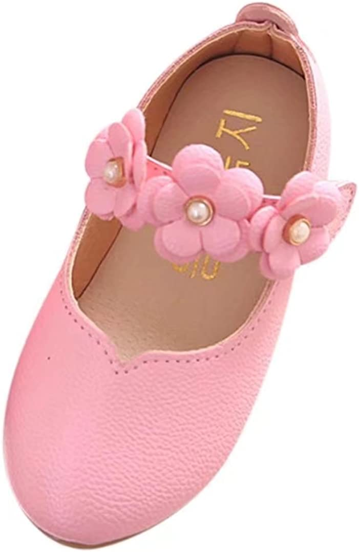 HUHU833 Children Shoes Girl Fashion Flower Kid Shoes Solid All Match Casual Shoes