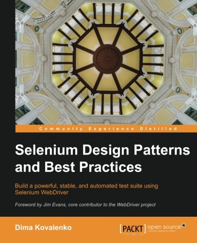 Selenium Design Patterns and Best Practices by Packt Publishing - ebooks Account