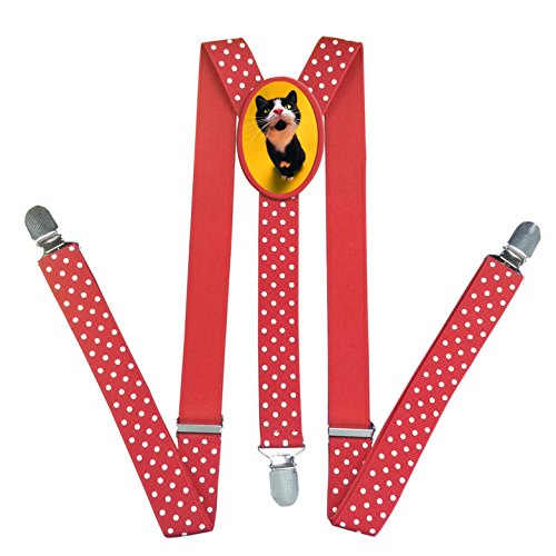 [Cute Animal Cat DIY Unisex Suspender Fashion Kids and Baby Adjustable Elastic Solid Boys Girls Y-Back Suspenders] (Tom And Jerry Costumes For Toddlers)