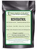Resveratrol - 50% Trans-Resveratrol - Natural Rhizome Extract Powder (Polygoni cuspidatium), 25 lb