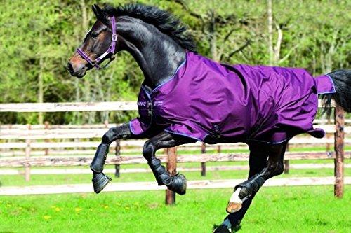 - Horseware Amigo Hero 6 Turnout Sheet 78 Purple