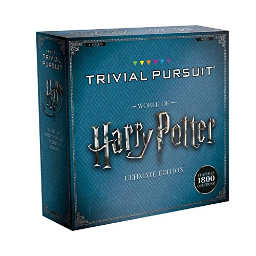 USAOPOLY Trivial Pursuit World of Harry Potter Ultimate Edition | Trivia Board Game Based On Harry Potter Films | Officially Licensed Harry Potter -