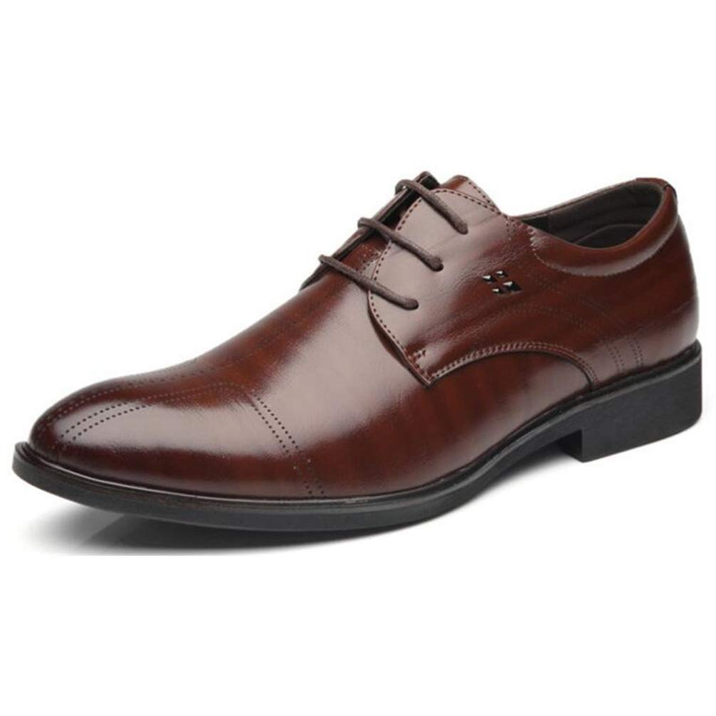 Phil Betty Mens Business Dress Shoes Rubber Outsole Comfortable Oxfords Shoes by Phil Betty (Image #1)