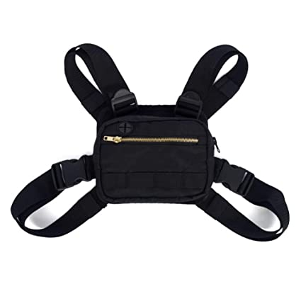 4c0673a334e16 Amazon.com : Btbtoc Men Women Shoulder Bags Fashion Chest Rig Bag ...
