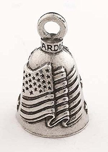 Ride Bell (American Flag Guardian Bell,)