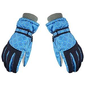 Sanwooden Practical Ski Gloves Winter Windproof Women Anti-Slip Warm Riding Ski Outdoor Sport Snowboard Gloves Winter Essential Gloves