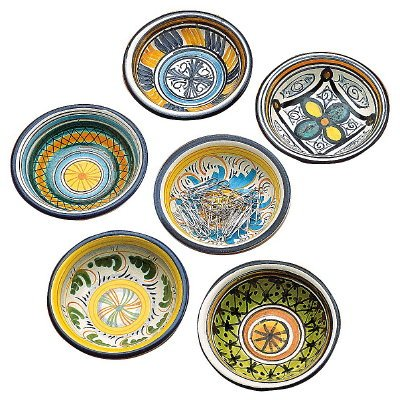 TOSCANA: Olive Oil Dipping - Condiment Bowls (Set of Six) by Toscana