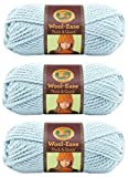 Lion 640-307 Wool-Ease Thick & Quick Yarn , 97 Meters, Mystical (3 Pack)