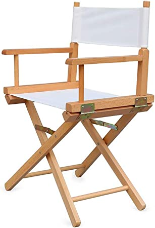 ZCCDYY Chaise Pliante en Bois Massif Chaise en Toile Chaise