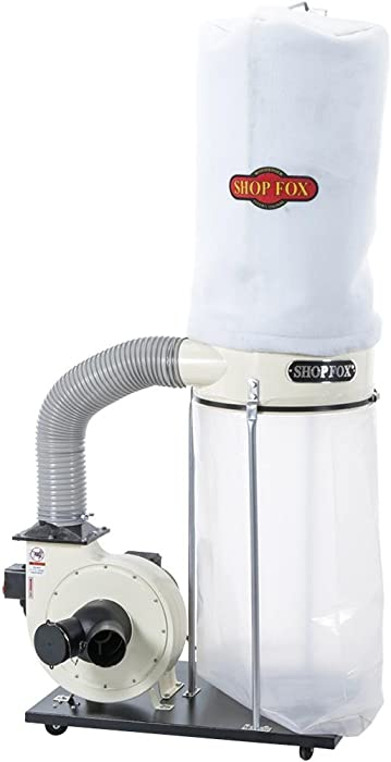 SHOP FOX W1685 1.5-Horsepower 1,280 CFM Dust Collector