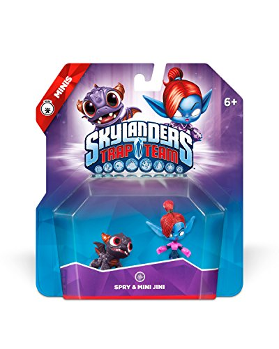 Skylanders Trap Team: Spry & Mini Jini - Mini Character 2 (Skylanders Stickers)