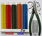 Zip Wing Bands Numbered Identification Tags NOT