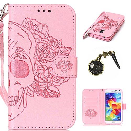 De Galaxy Cover Piel 4 5 PC nbsp;pulgadas Shell Funda 13 S5 de Conector smartphone Case Carcasa teléfono Caso para 4 nbsp;Mini PU marrón móvil Painted Samsung cubierta de Carcasa silicona Polvo nPxwP7qR8