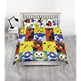 Pokemon Double Duvet, Multi-Colour, 200 x 200 cm