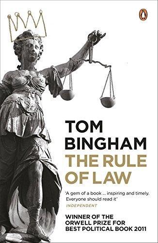 The Rule of Law by Tom Bingham (2011-02-24)