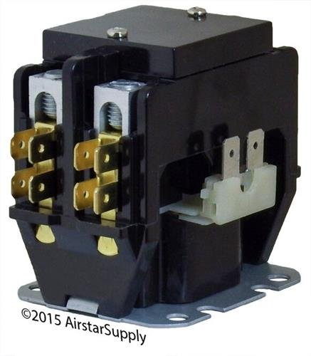 Rheem • 30 Amp 2 Pole 24v Coil Packard Replacement Contactor C230A by Packard (Image #2)