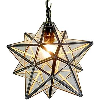 moravian star ceiling light ebay hanging pendant retro style transparent mount fixture uk