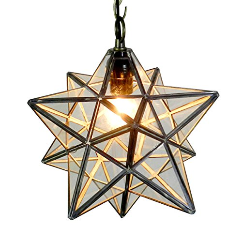 Rustic Star Pendant Light - 1
