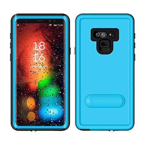 Scheam Waterproof Case Compatible with Samsung Galaxy Note 9, 360 Full-Body Protection Heavy Duty Shockproof Dustproof Rugged Bumper Case for Samsung Galaxy Note 9 (Light -