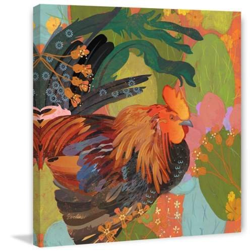 rooster painting - 7