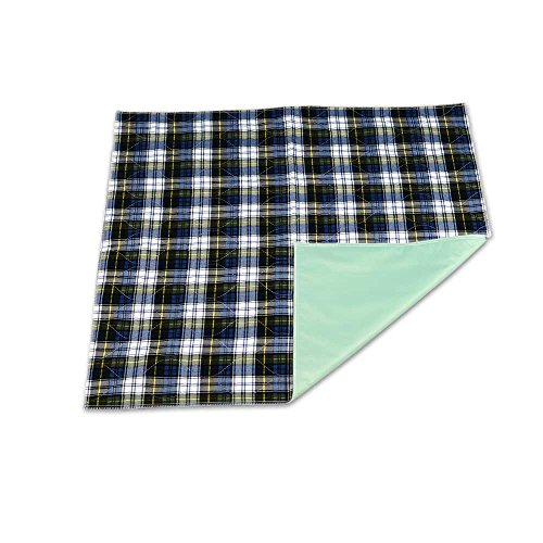 NorthShore Champion, 33 x 35, 40 oz., Washable Underpad, Tartan Plaid, Each