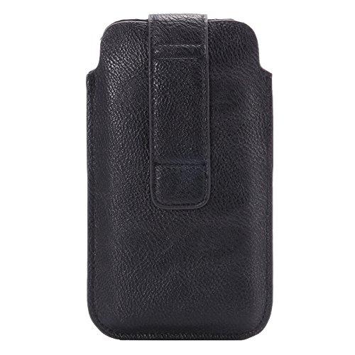 PU Soft Custodia in pelle, cintura borsa, custodia, cover, custodia protettiva, Cover, Case con passante per cintura per il Apple iPhone 6Plus e adatta a 6pollici phaplet s come Alcatel One Touch H