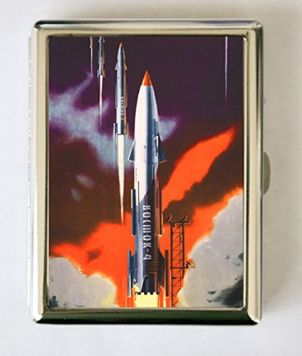 Amazon soviet propaganda cigarette case wallet business card soviet propaganda cigarette case wallet business card holder rocket ship russian russia outer space sci reheart Image collections