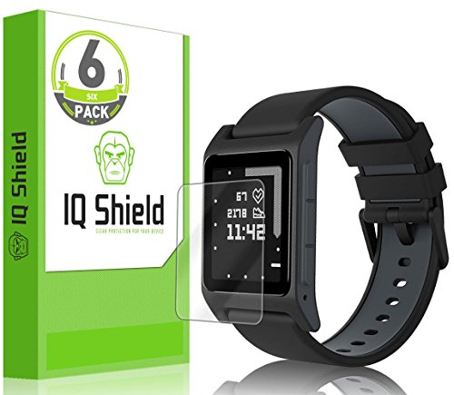 pebble-2-screen-protector-6-pack-iq-shield-liquidskin-full-coverage-screen-protector-for-pebble-time