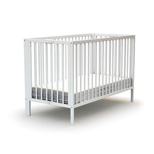 Ateliers T4 Lit bébé Pliant Laqué blanc