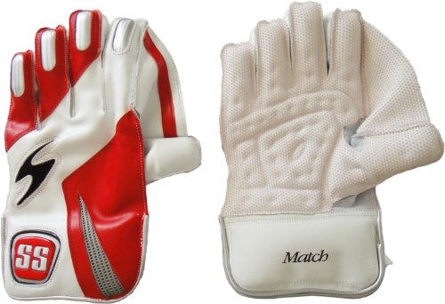 SS Boy's Match Wicket Keeping Gloves