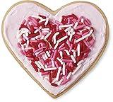 valentines baking sprinkles - Wilton 2104-7236 Heart Cookie Cutter & Sprinkles