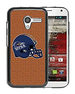 NCAA TexasSan Antonio Roadrunners Black Customize Motorola Moto X Phone Cover Case