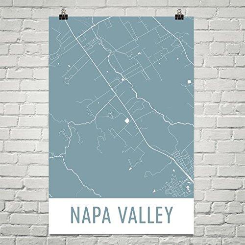 Napa Valley Poster, Napa Valley Art Print, Napa Valley Wall Art, Napa Valley Map, Napa Valley City Map, Napa Valley City Map Art,Napa Valley Gift,Napa Valley Decor, (24